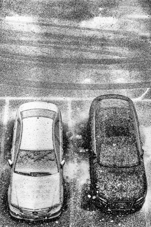 Parking neige