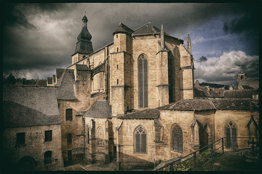 Sarlat-la Canéda  Cathédrale Saint-Sacerdos