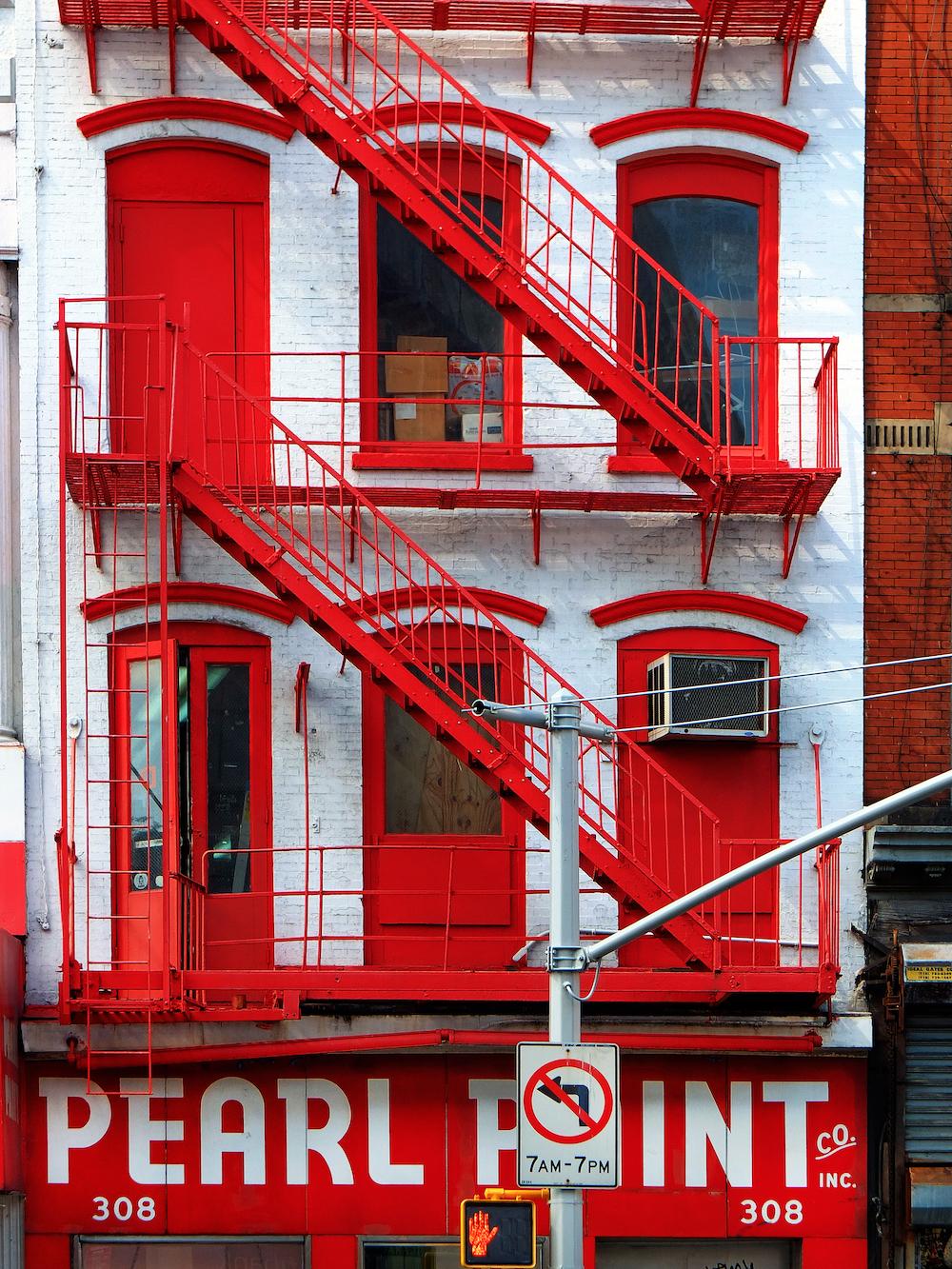 escaliers NY